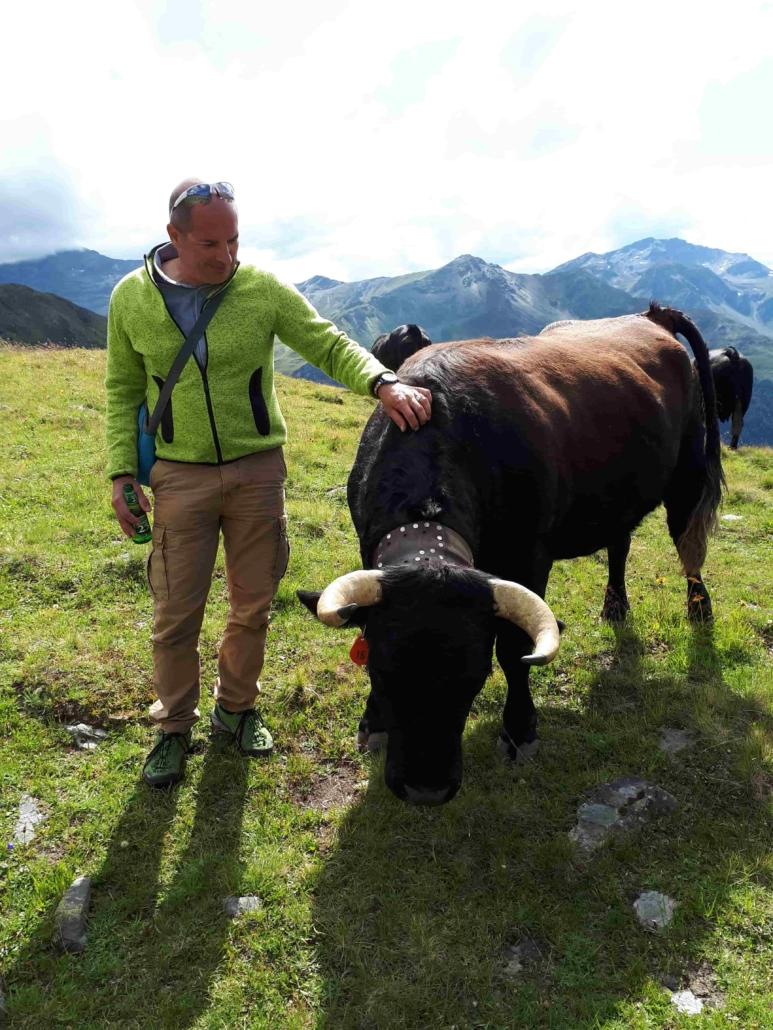 vache et moi